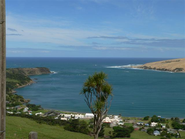 A great view of the Hokianga Harbour entrance
