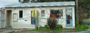 First New Zealand Post Office in Horeke, Hokianga Harbour