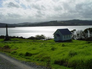 Church at Mangungu, Horeke, Hokianga Harbour
