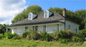 Mangungu Mission, Horeke Hokianga: The Hokianga Mission House has been moved back from Onehunga and put into its original place