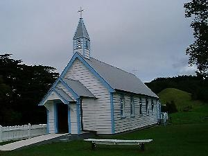 Church from outside Photo courtesy of Stuart Park, NZ Historic Places Trust