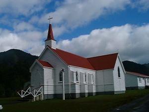 Panguru Church Photo courtesy of Stuart Park, NZ Historic Places Trust